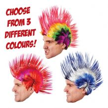 Peter Wright Darts Fancy Dress Mohican Hair Wig